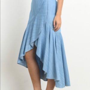 Skirts - The edge maxi skirt